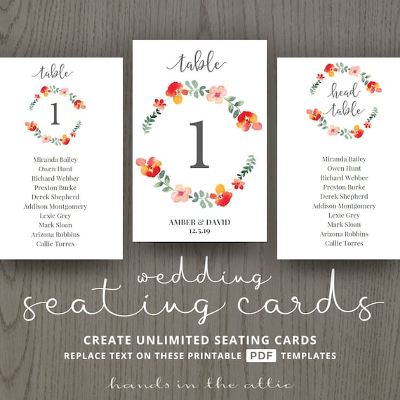 wedding table cards number ideas table assignment red