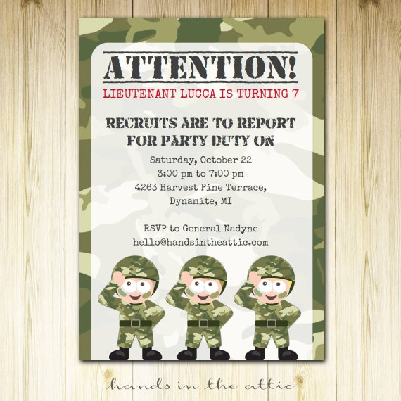 photograph about Camo Printable identified as Navy topic birthday get together, camo social gathering camouflage concept
