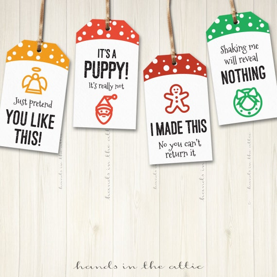 image relating to Santa Labels Printable called Xmas present tags, printable cheeky holiday vacation reward tags