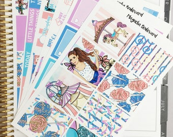Carnival Weekly Planner Sticker Kit! Perfect for your Erin Condren Life Planner!