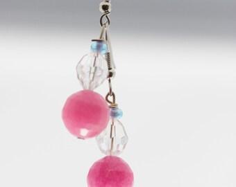 Pink n' Purple Earrings