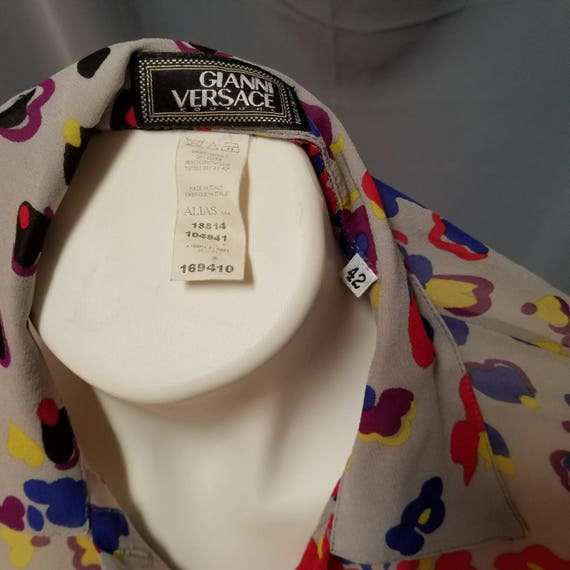 Gianni Versace Couture Blouse Vintage - image 4