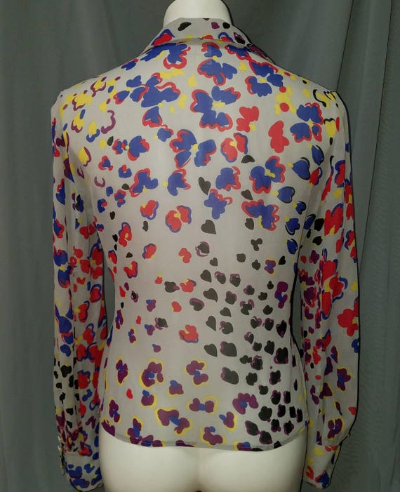 Gianni Versace Couture Blouse Vintage - image 2