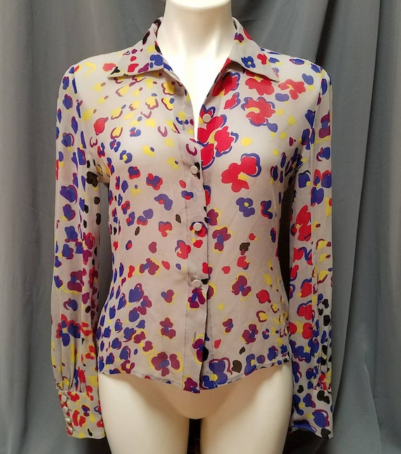 Gianni Versace Couture Blouse Vintage - image 1
