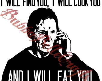 Liam Neeson/ I will find you instant pot decal