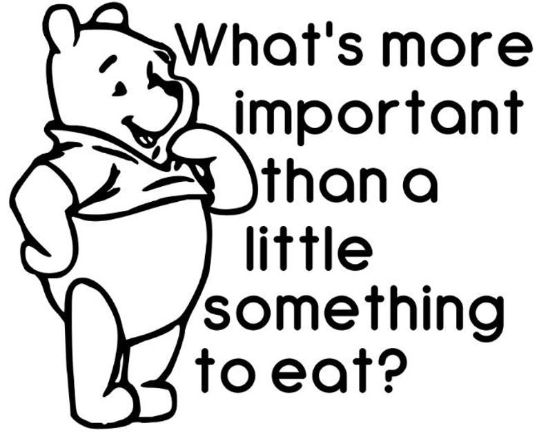 Pooh Instant Pot Decal