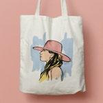 Tote bag Lady Gaga, canvas bag,bag 100% cotton, bag sport, bag shopping, bag shopping bag, shopping bag, change bag, October 13