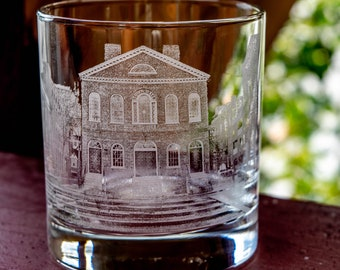 Rocks glass, First Home, First home gift, housewarming gift, first home, personalized housewarming gift, etched glasses, gifts for him