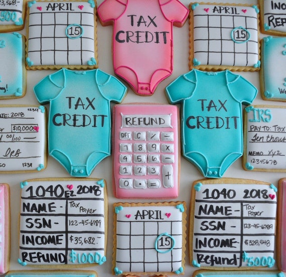 One Dozen Accounting Or Tax Sugar Cookies - Sugar Cookies - Decorated  Cookies