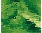 Stained Glass Sheet Light Green Waterglass Transparent Spectrum MOSAIC