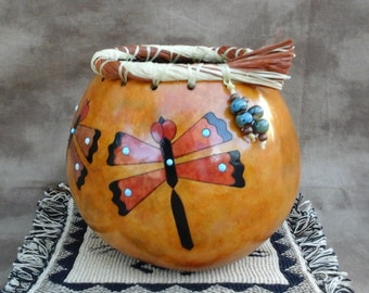 Gourd Dragonfly Bowl
