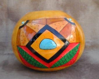 Southwestern Gourd, Montauge Bowl