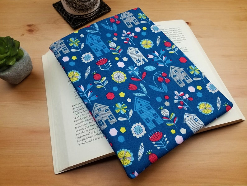 Travellers Book Protector Hanns House Fabric Book Sleeve image 0