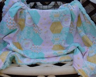 Bunnie Queen Blanket
