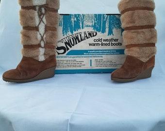 d2aa638387d 70s snow boots | Etsy