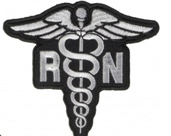 Nurse Band Aid Embroidered Patch Hook and Loop Applique Medical RN Clinic EMT