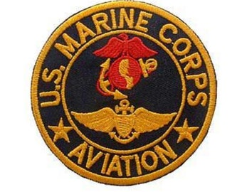 d097f66a823b Marine Corps Aviation Iron On Patch 3