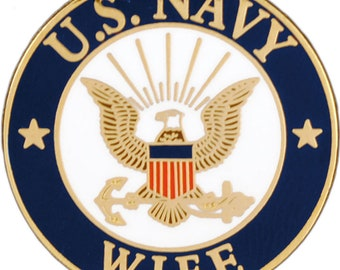 """Navy Mom Lapel Pin P62693 by Eagle Emblems 1/"""""""