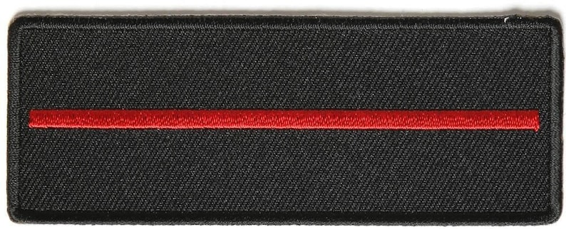 4x1.5 inch P4006 By Ivamis Trading Thin Red Line Patch for Firefighters