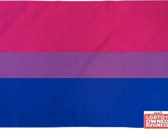 Bisexual Pride Flag 2'x3' or 3'x5' Poly Waterproof Indoor/Outdoor Flag