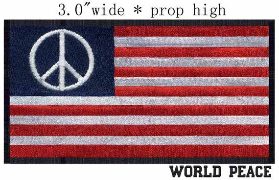 State of Ohio Flag Iron On Patch 3.6 x 2.2 inch Free Shipping