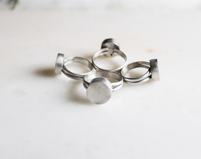 Hollow Form Ring Size Seven and a Half