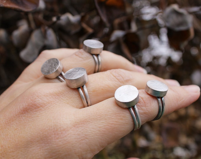 Hollow Form Ring Size Six