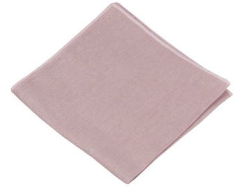 fed3ad7d7638 Dusty Rose Linen Pocket Square.Mens Pocket Square Dusty Pink .Dusty Rose  Wedding Handkerchief.Gifts.10