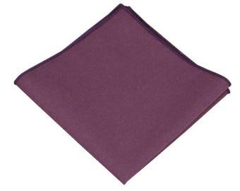 fdfe98ab45f24 Mauve Linen Pocket Square.Mens Pocket Square Dusty Purple .Mauve Wedding  Handkerchief.Gifts.10