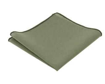 Luxury Racing Green Velvet Pocket Square