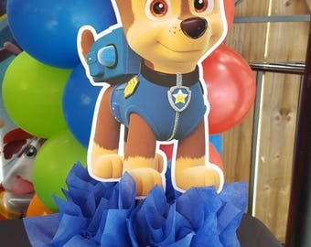 Pleasant Paw Patrol Centerpiece Etsy Download Free Architecture Designs Scobabritishbridgeorg