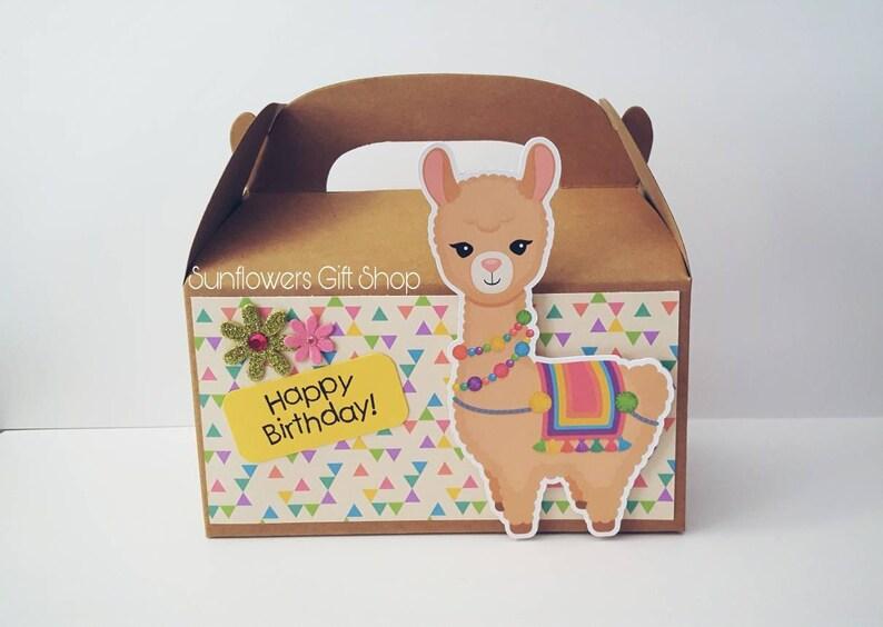 Llama Favors Llama Decor Llama Birthday Llama party Llama Favor boxes set of 10 boxes
