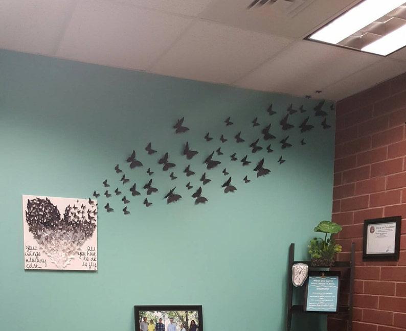 3D Butterfly Wall Art image 0