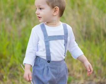 Toddler's German Shorts PDF Pattern (size 12-18 months)