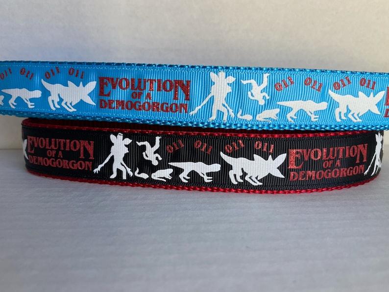 Demogorgon Inspired 1 inch Dog Collar