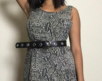Snake Skin Maxi Dress