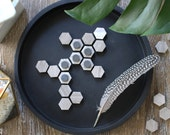 Hexagon Fridge Magnets