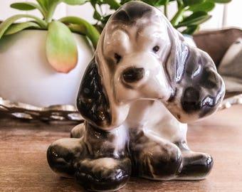 Rare Styson China Spaniel Figurine