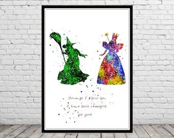 Glinda the good Witch and Wicked Witch, Glinda, The Wizard Of Oz, Elphaba, Elphaba witch, Wicked witch oz, Wicked Witch, quote