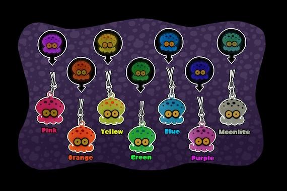 Splatoon Glowing Octoling Keychain