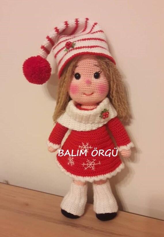 Navidad Amigurumi: 30 Patrones para tejer amigurumis navideños ... | 824x570