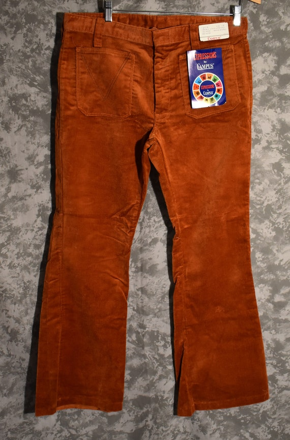 1970's Deadstock Corduroy Bell Bottoms (Expression