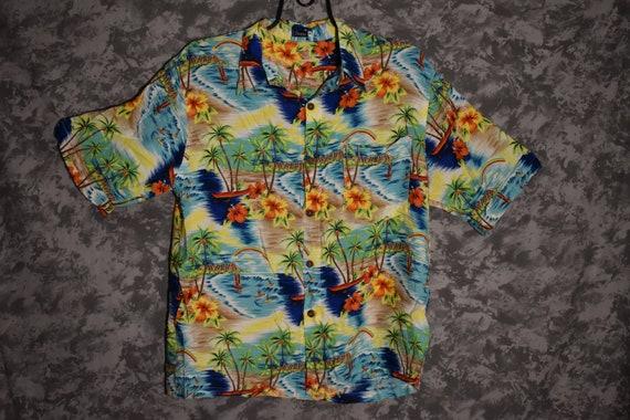 1980's Hawaiian Print Shirt