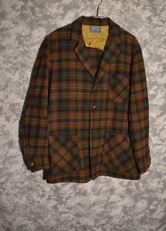 1950's or 1960's Men's Pendleton Shirt Jacket