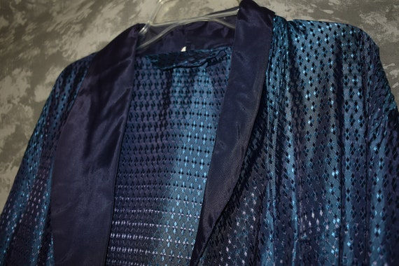 1950's Men's Robe/Dressing Gown (with Belt) - image 3