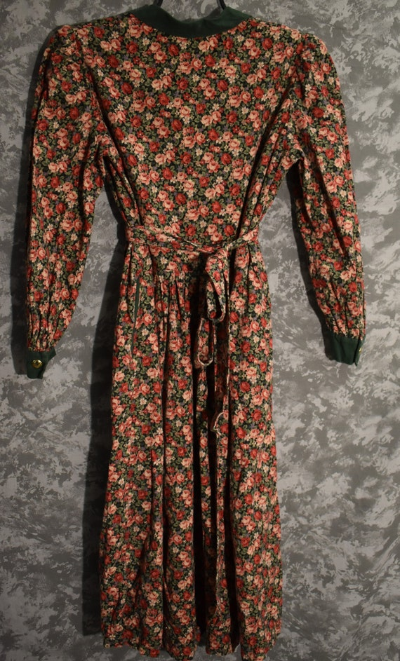 1980's Floral Dress - image 5