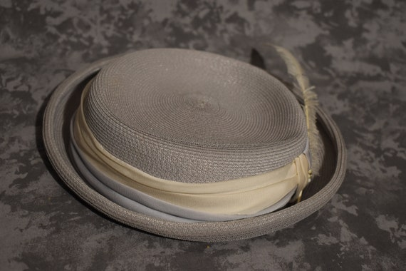 1950's Mr. Walter Straw Hat