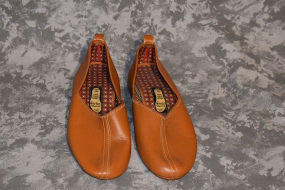 1950's Deadstock Nite Glo Leather Shoes