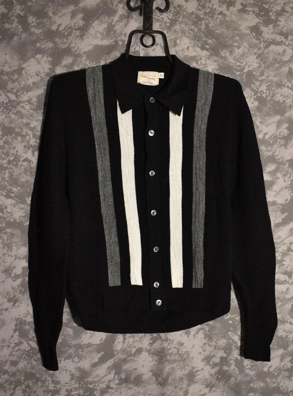 1950's Orlon Button Up Sweater
