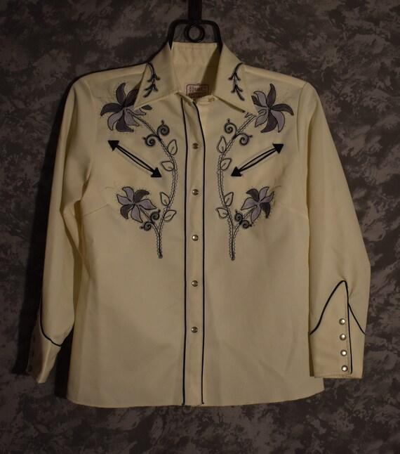 1960's H Bar C Western Shirt